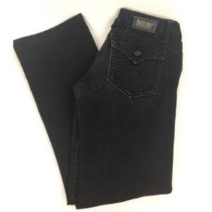 Miss Me Jeans Boot Cut Irene Dark BlacK Denim